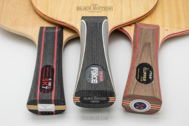 Black Edition & 7-ply wood blades 12